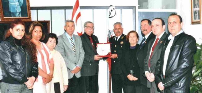 Şehit Aileleri ve Malül Gaziler Derneği Yönetim Kurulu, Ahmet Zaim'i ziyaret etti…