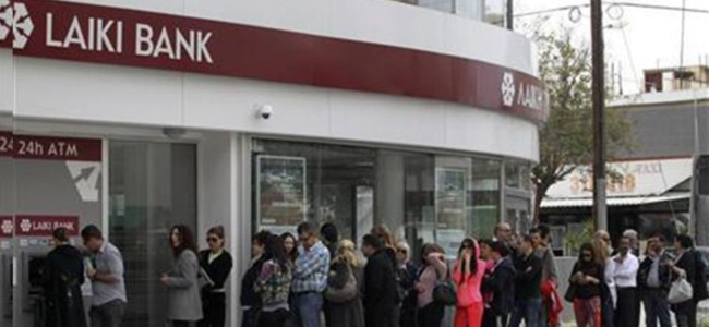 Laiki Bankası  CEO'su Takis Fidias'ın da görevine son verildi !