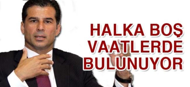 """Özgürgün: """"Halkına boş vaatlerde bulunuyor"""""""