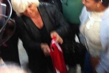 Güney'de Türkiye bayrağı yakıldı