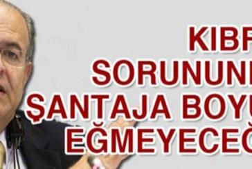 """Kasulidis: """"Kıbrıs sorununda şantaja boyun eğmeyeceğiz"""""""