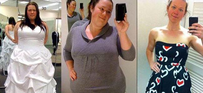 1 yılda 75 kilo verdi!