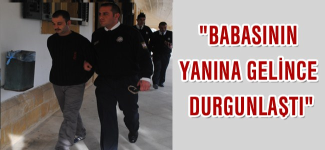 """""""Çocuk Babasının Yanına Gelince Durgunlaştı"""""""