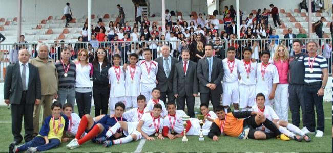 Şehit Turgut şampiyon