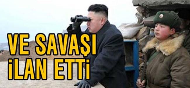 Kuzey Kore 'Savaş' İlan Etti