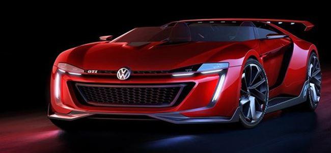 Volkswagen'den üstü açık GTI konsepti!