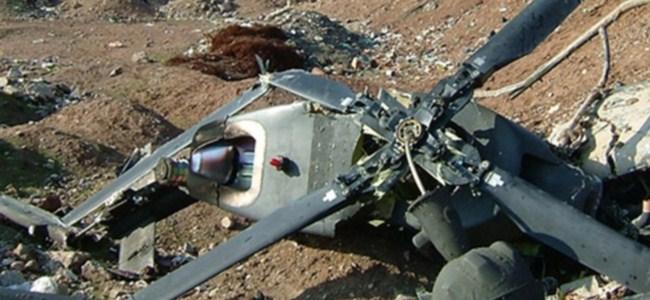 Güney Afrika'da, helikopter kazası !