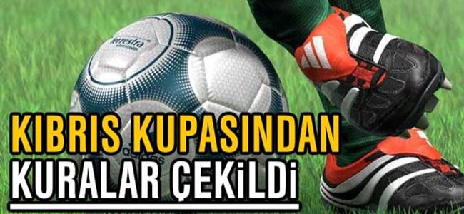Kıbrıs Kupasında karşılaşmalar belirlendi