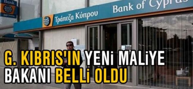G. Kıbrıs'ın yeni maliye bakanı Georgiades olacak