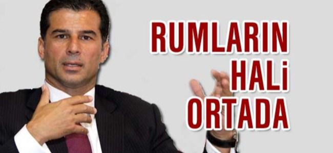 Dışişleri Bakanı Özgürgün: Rumların hali ortada…
