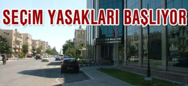 YSK, seçim günü yasaklarını hatırlattı