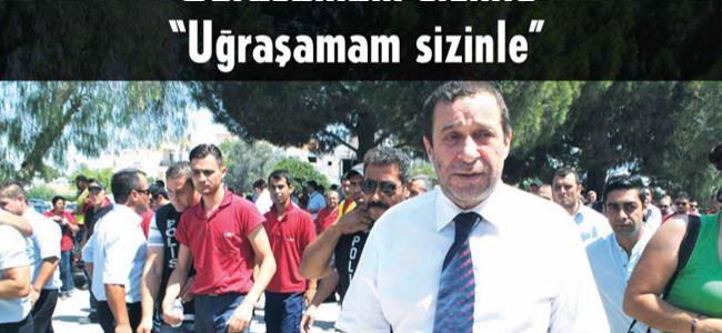 Denktaş'tan  CAS çalışanına SERT TEPKİ!