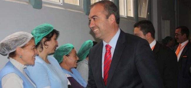 Sertoğlu, Lefkoşa Devlet Hastanesi'ni ziyaret etti