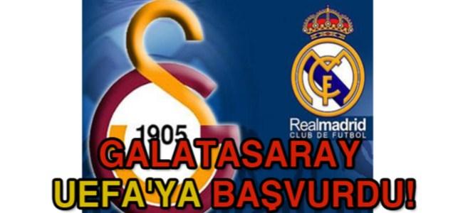 Galatasaray UEFA'ya Başvurdu!
