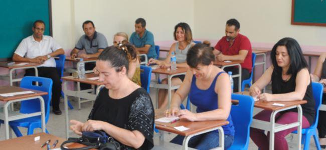48 öğretmen sınava katılmadı