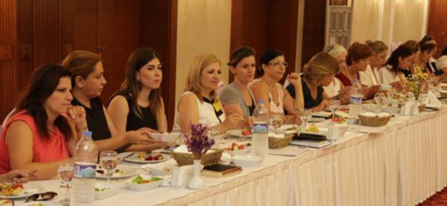 İş Kadınları Derneği Gazimağusa'da toplantı yaptı