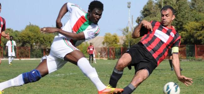 Lapta'dan gol  çıkmadı