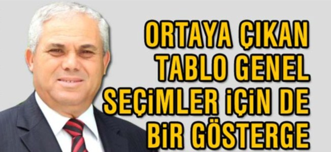 """Yorgancıoğlu: """"Ortaya çıkan tablo genel seçimler için de bir gösterge"""""""