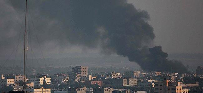 Gazze'de insanlık dramı: 154'ü çocuk 583 ölü