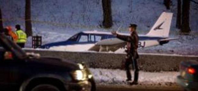 ABD'de iniş yapan küçük uçak babayla kızına çarptı