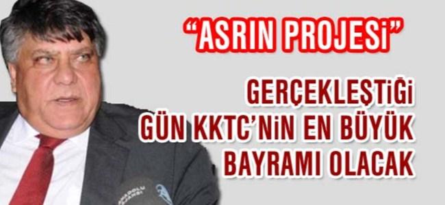 Amcaoğlu, TRT haber'de Su Projesi'ni anlattı