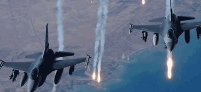 Irak uçakları IŞİD'i bombalıyor