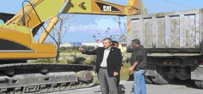 Tatlısu Belediyesi, Yol Çalışması Başlatıldı.
