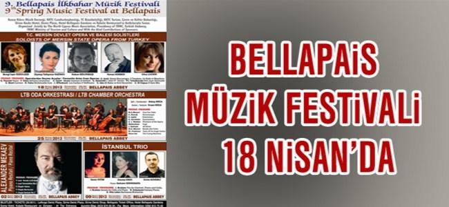 Bellapais Müzik Festivali 18 Nisan'da Başlıyor