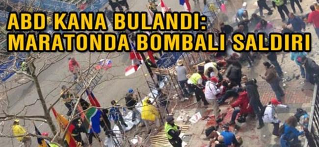 ABD'de maraton koşusuna bombalı saldırı