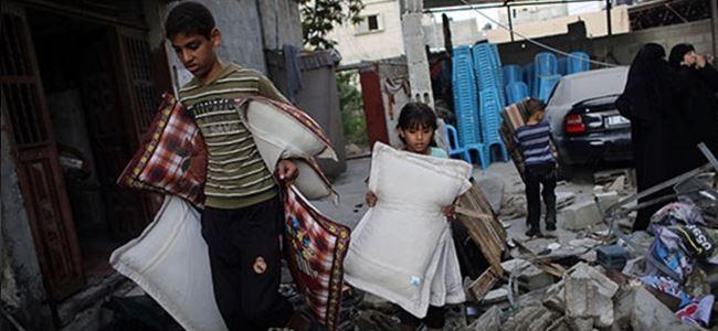 İsrail'in Gazze saldırılarının bilançosu: 2 bin 145 ölü