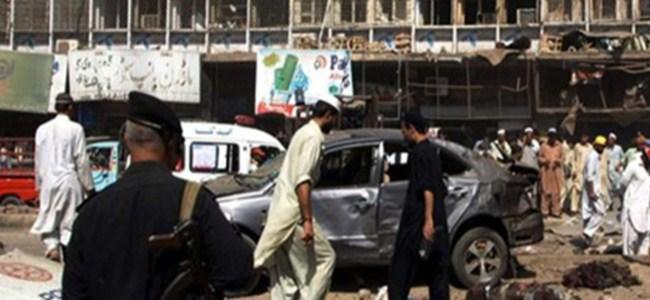 Pakistan'da İntihar Saldırısı!