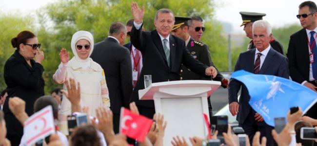 Erdoğan'nın KKTC'deki ilk konuşmaları