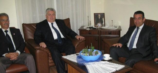 BRTK Müdürü Tümerkan TDP Başkanı Çakıcı İle Konuştu