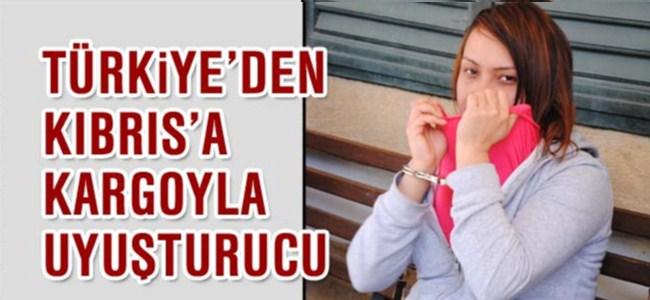 Türkiye'den Kıbrıs'a kargoyla uyuşturucu