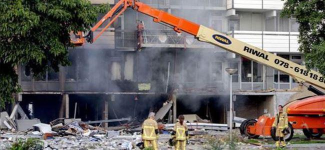 Hollanda'da doğalgaz patlaması: İki ölü