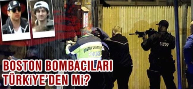 Boston bombacıları Türkiye'den mi?