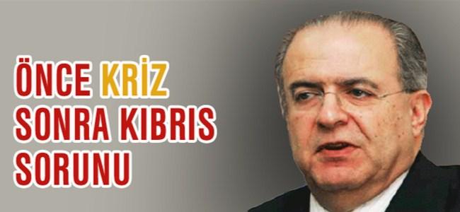 """Kasulidis, """"Kriz Bitmede Kıbrıs Sorunuda Çözüme Kavuşmaz"""""""