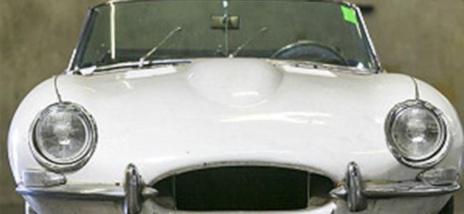 Çalıntı Jaguar 46 yıl sonra bulundu