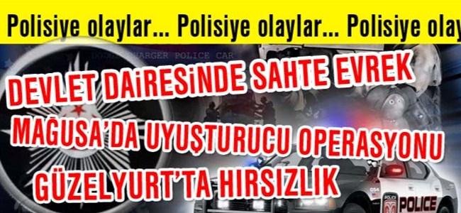 Polisiye haberler…
