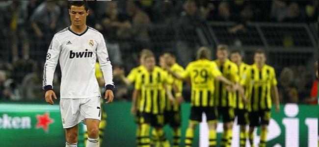 Dortmund'da Madrid'i dağıttı! 4-1