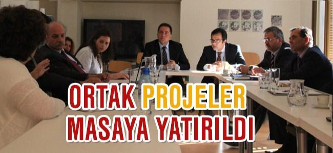 Ortak projeler konuşuldu
