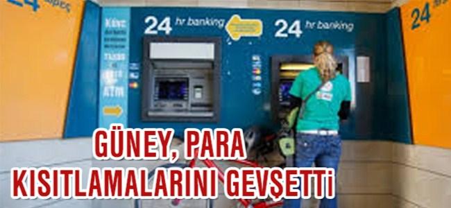 Güney Kıbrıs'ta Para kısıtlamalarında gevşetme…