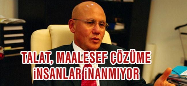 Talat, Çözüm İradesi Sadece Türkiye'den Kaynaklanmıyor