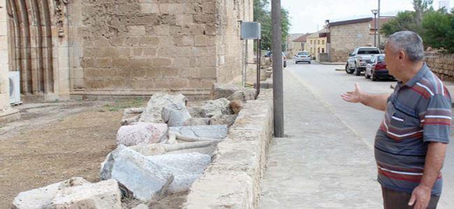 Lala Mustafa Paşa'yı da sağanak vurdu