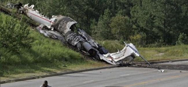 Almanya'da Uçak Düştü 4 Ölü