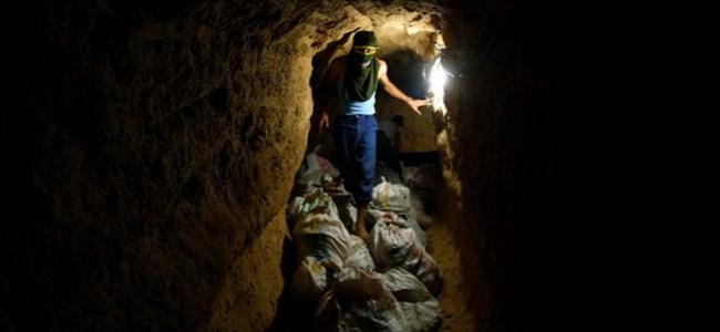 Gazze,  3 uyuşturucu tüneli kapatıldı