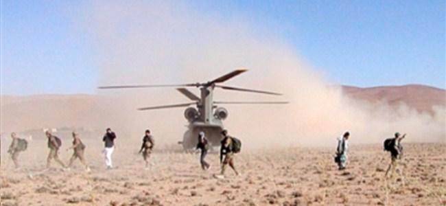 NATO Helikopteri Düştü: 4 ölü