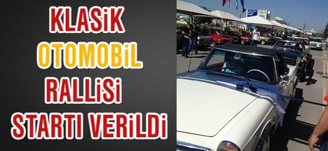 Eroğlu, Klasik Otomobil Rallisi'nin Startını Verdi.