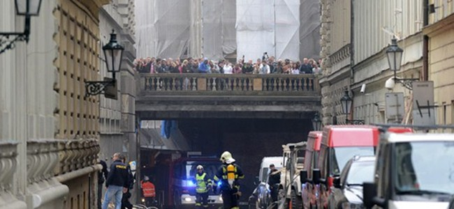 Prag'da patlama: En az 40 kişi yaralı