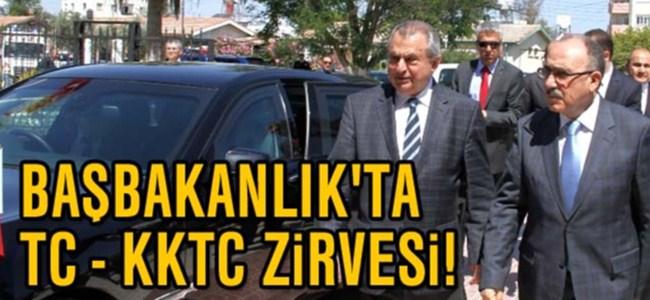 Başbakanlık'ta TC – KKTC Zirvesi!